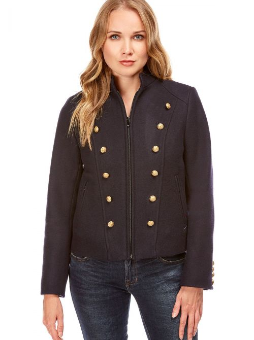 Short jacket for women made of wool NICE