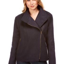 SEATTLE veste femme courte en laine imperméable