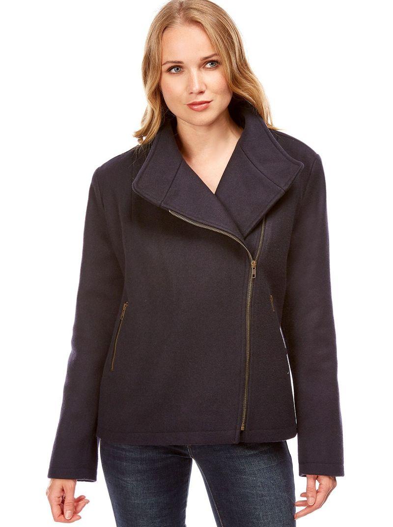 Veste courte femme en laine SEATTLE