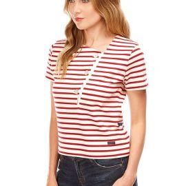 ST-TROPEZ short-sleeved breton shirt women