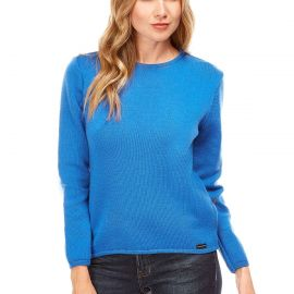 ALBI sweater women merinos wool crew-neck