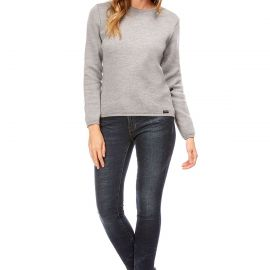 AGNES sweater women crew-neck made of wool