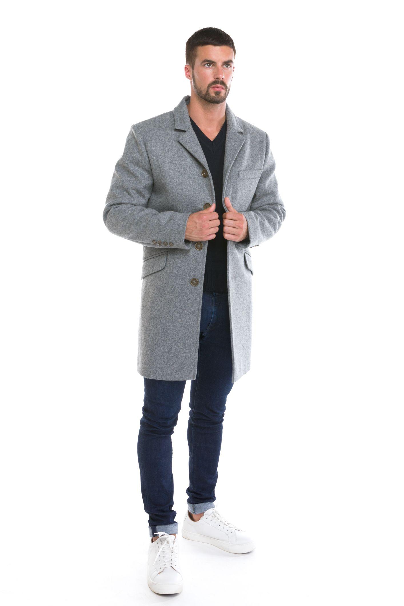 MENTON manteau homme laine imperméable La Maison du Caban