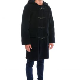 LONDRES herringbone duffle coat men made of wool