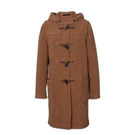 LIVERPOOL herringbone duffle coat women made of wool