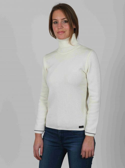 AURELIE sweater women turtleneck made of wool