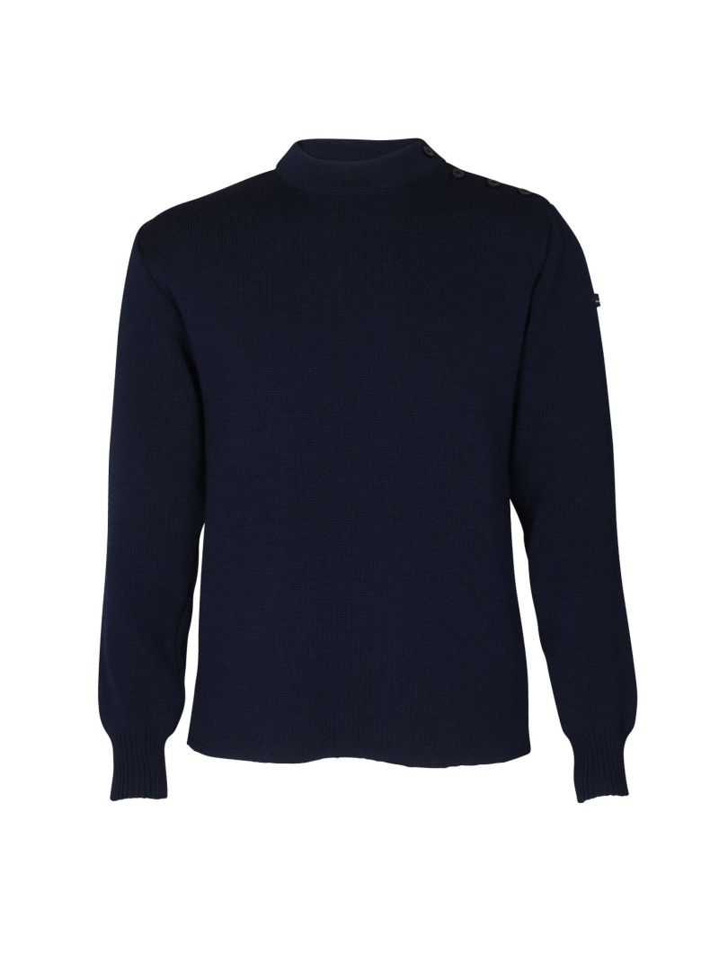 EQUIPAGE pull marin homme femme laine
