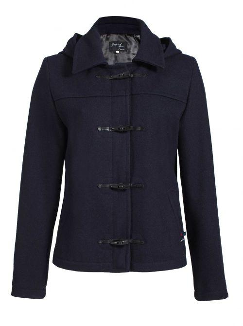 Short duffle coat for women made of wool BENODET