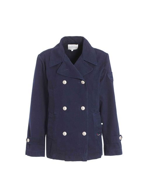 Pea coat for women made of cotton ROUEN