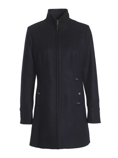 ANGERS coat women fitted cut made of wool