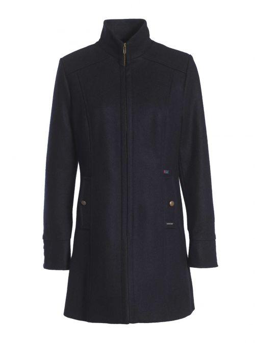 ANGERS manteau femme ajusté laine imperméable