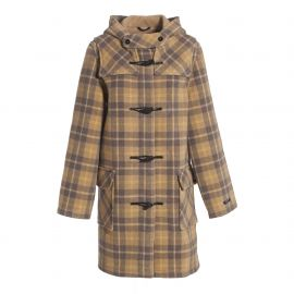 LIVERPOOL duffle coat women colour reversed made of wool