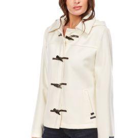 BENODET duffle coat femme court laine imperméable