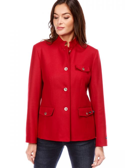 Jacket with officer's collar CHINON