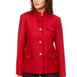 CHINON jacket women with officer's collar