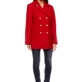 Pea coat for women made of wool OUESSANT