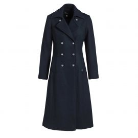 Long coat for women CARNAC cashmere quality