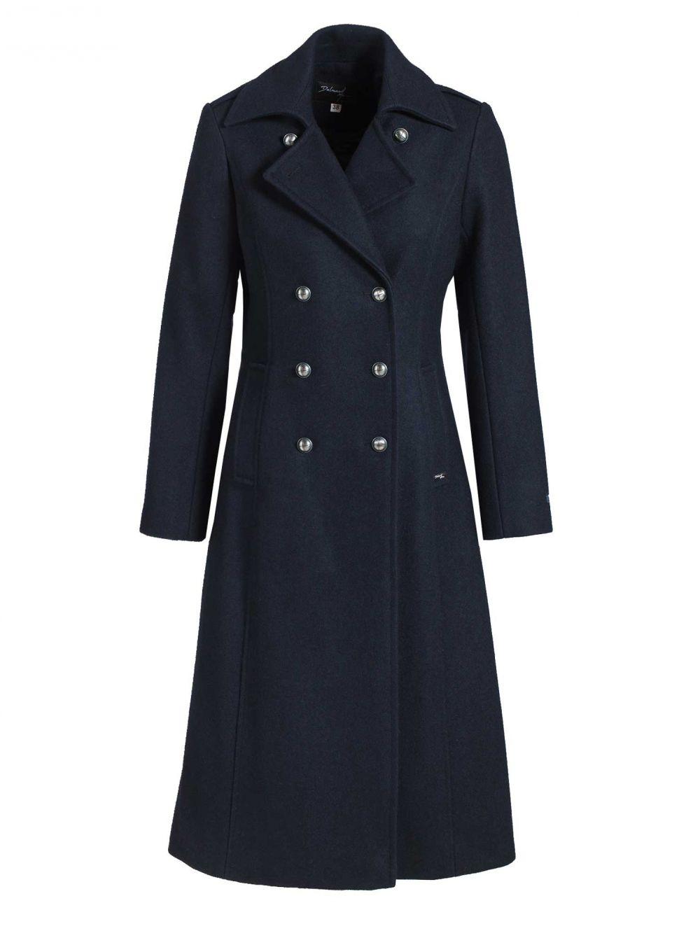 manteau long femme carnac qualit cachemire la maison du caban et du kabic by dalmard marine. Black Bedroom Furniture Sets. Home Design Ideas