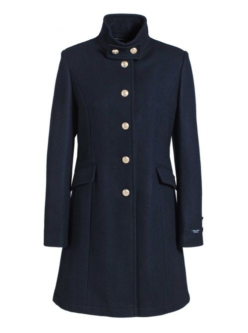 BRIGHTON coat women fitted cut cashmere