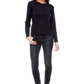 AVIGNON sweater women merinos wool crew-neck