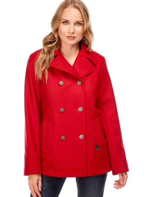 Pea coat for women made of wool BREST