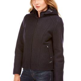LA BAULE Short jacket women made of wool