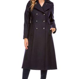 Caban long femme longeur manteau CARNAC