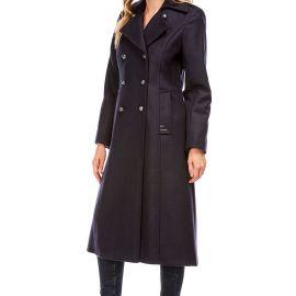 CARNAC Long coat women cashmere